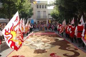 Sbandieratori a Barcellona 2006