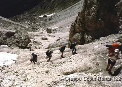 1985 13 Route di Noviziato Dolomiti di Sesto_jpg
