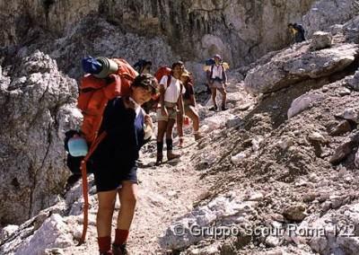 1985 14 Route di Noviziato Dolomiti di Sesto_jpg