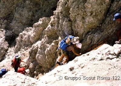 1985 15 Route di Noviziato Dolomiti di Sesto_jpg