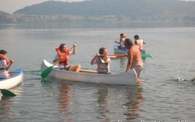 2007 – Reparto Altair  – Uscita in canoa