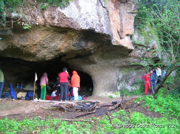 2007 – Reparto – Uscita in grotta