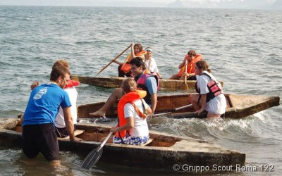 2007 – Uscita di Apertura – canoe