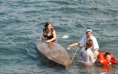 2007 – Uscita di Apertura – In acqua
