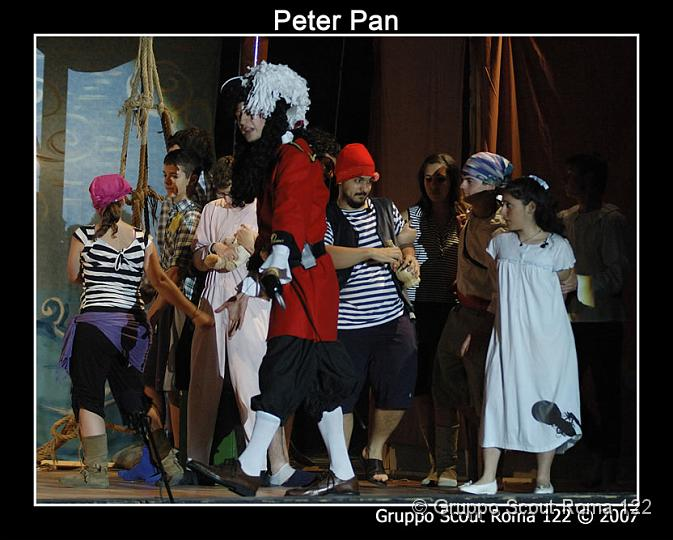 2007 – Spettacolo Peter Pan